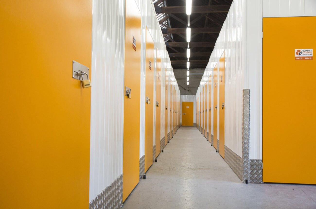Cumbria Storage Inside Main Corridor
