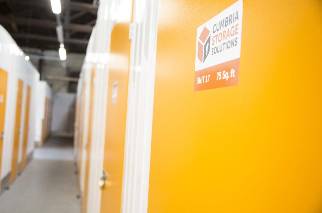 Cumbria Storage Inside Facility Unit 17