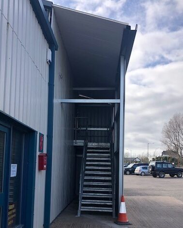 Access To Cumbria Storage Solutions Self Storage Units 41   57 Via The Grey Doors To The Left At The Top Of The Stairs 1